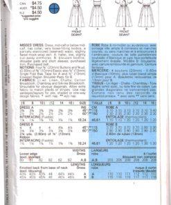 Butterick 3276 Z 1