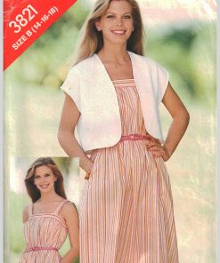 Butterick 3821 Y A