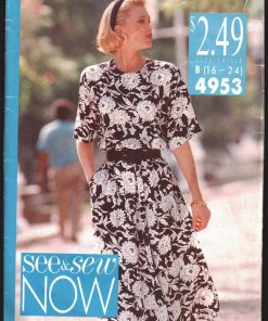 Butterick 4953 Y A