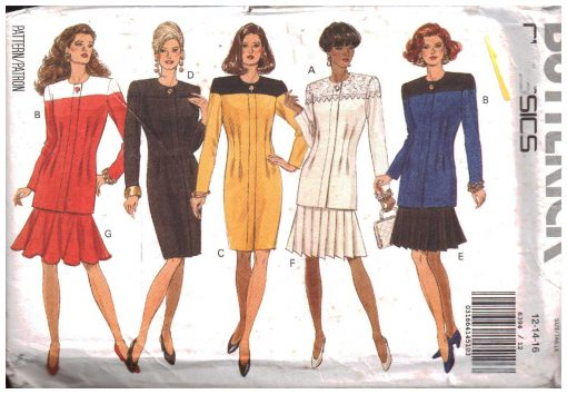 Butterick 6394 Y A