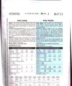 Butterick B4713 Y 1
