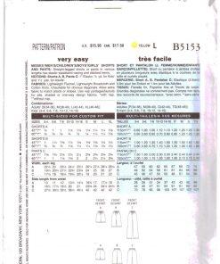 Butterick B5153 Y 1