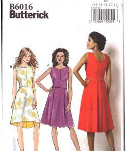 Butterick B6016 Y