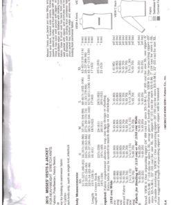 Kwik Sew 2615 Y 1