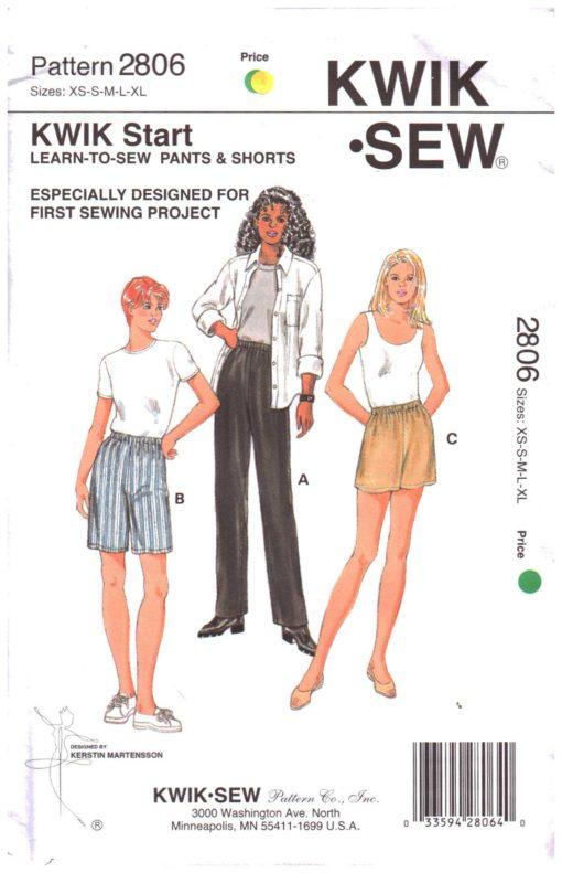 Kwik Sew 2806