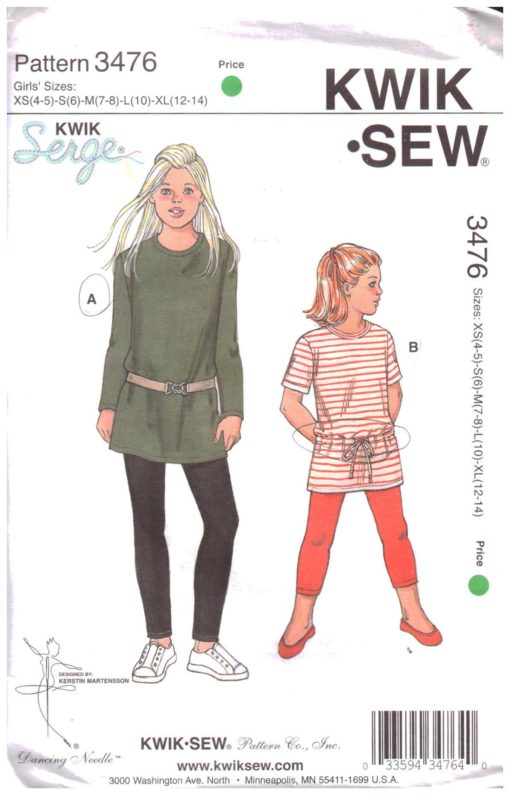 Kwik Sew 3476 1