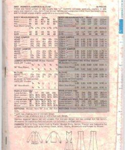 Butterick 5542 Z 1