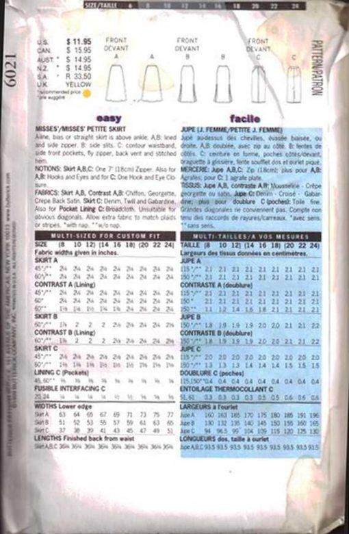 Butterick 6021a 1