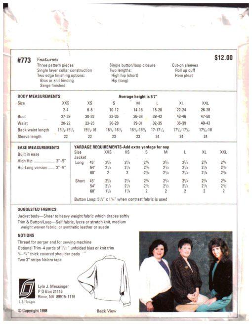 L J Designs 773 1
