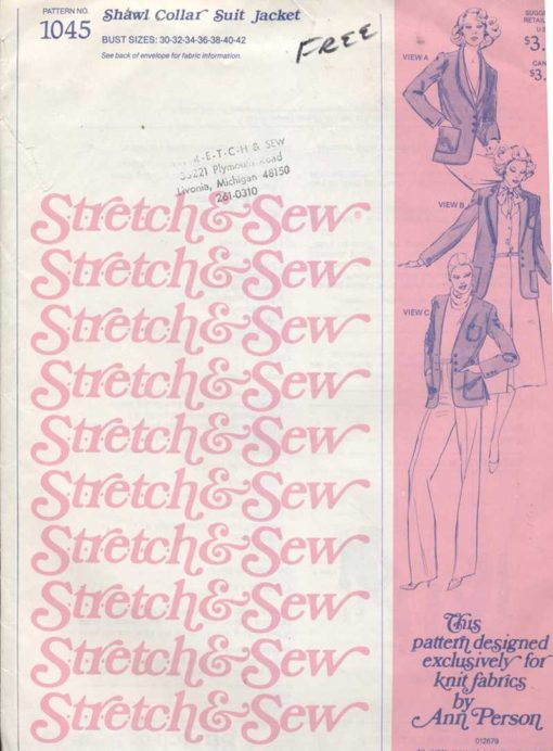 Stretch Sew 1045