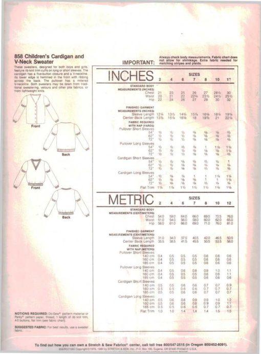 Stretch Sew 858 1