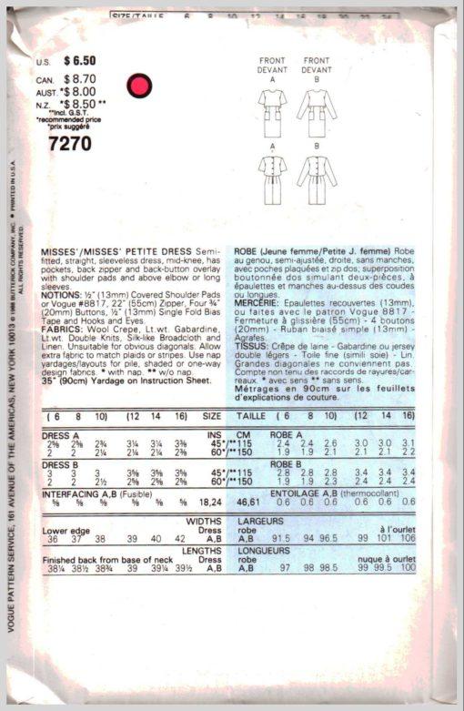 Vogue 7270 1