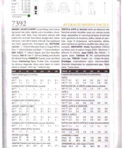 Vogue 7392 1