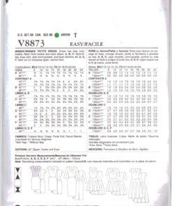 Vogue V8873 1