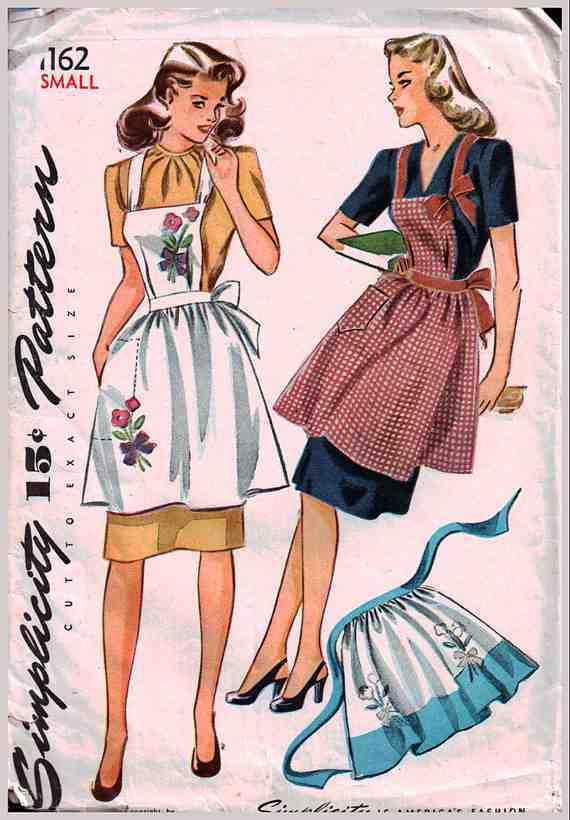 Vintage 1960/'s  Apron