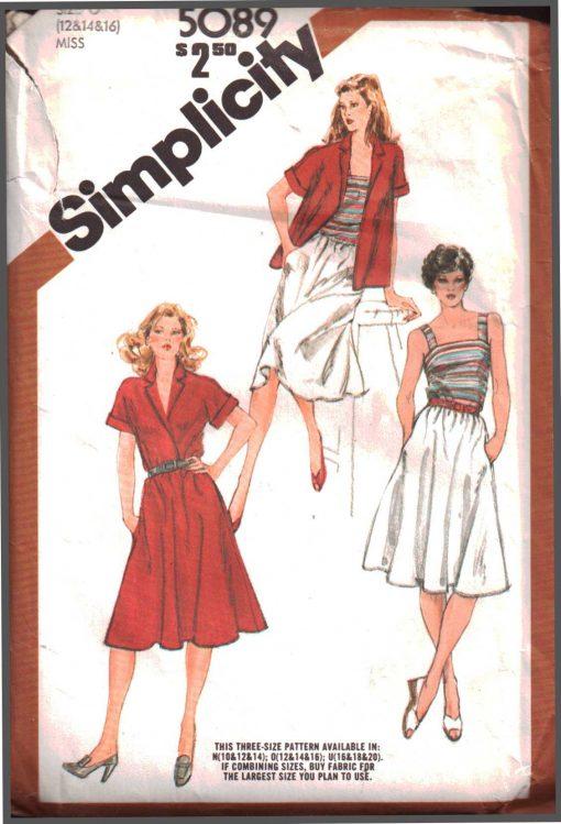 Simplicity 5089 A