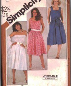 Simplicity 5498