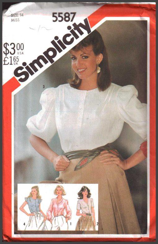 Simplicity 5587