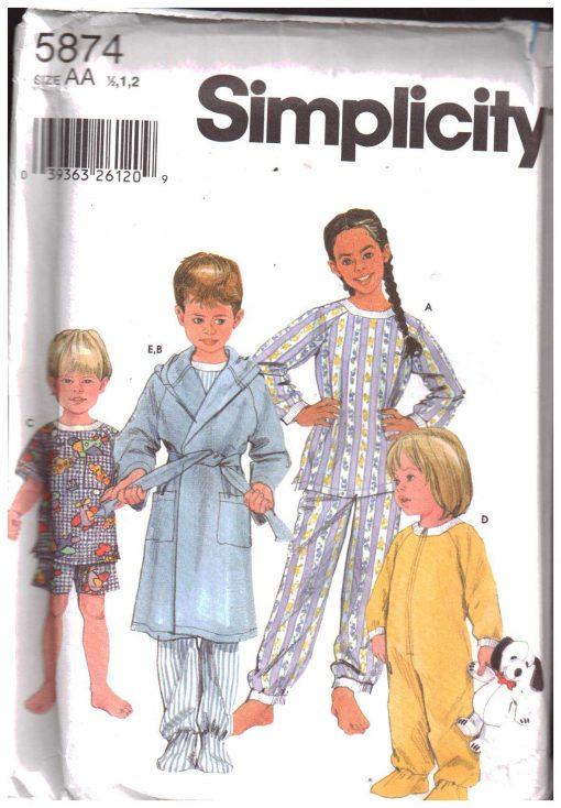 Simplicity 5874