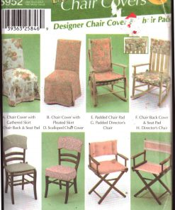 Chair Covers Sewing Patterns
