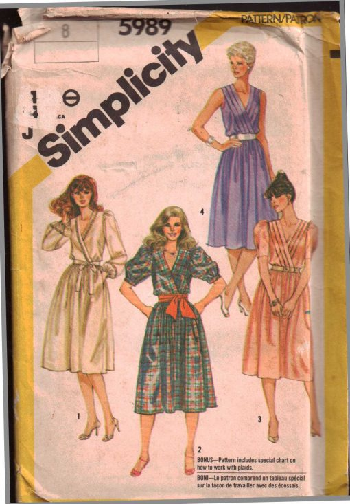 Simplicity 5989