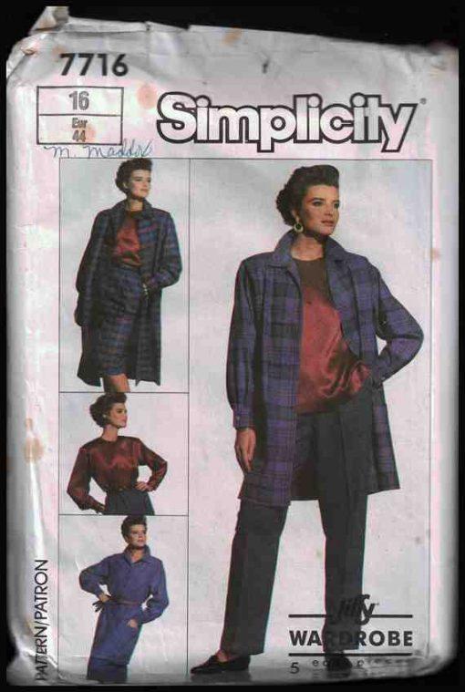 Simplicity 7716