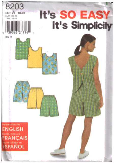 Simplicity 8203
