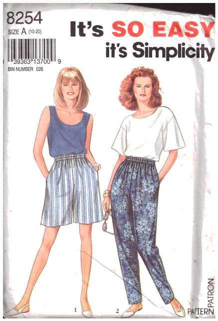 Simplicity 8254