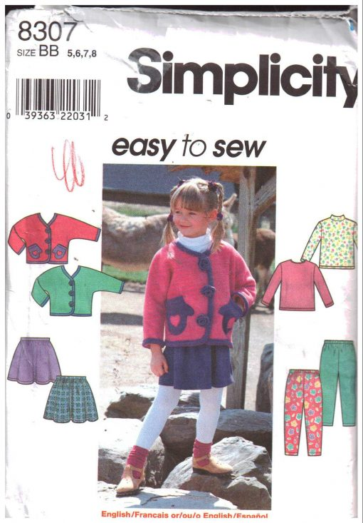 Simplicity 8307