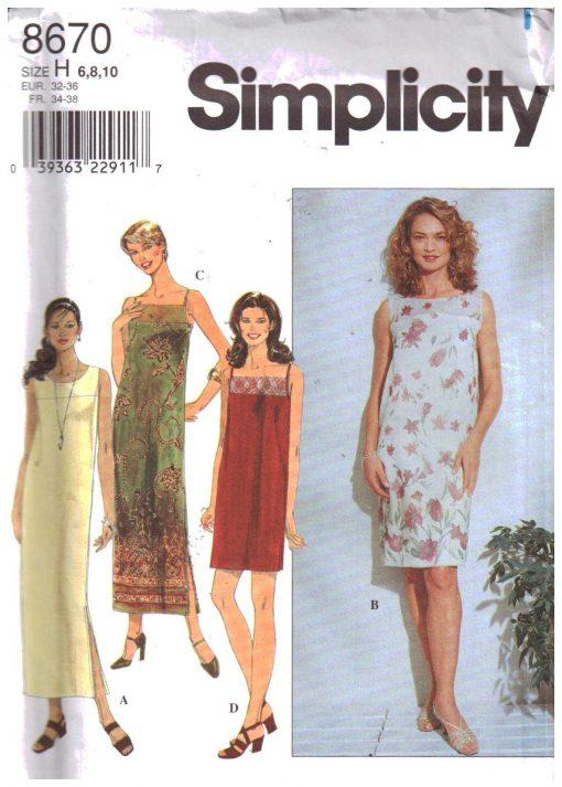 Simplicity 8670