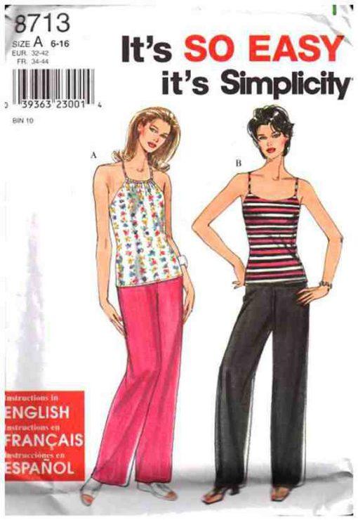 Simplicity 8713