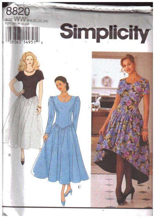 Simplicity 8820 2