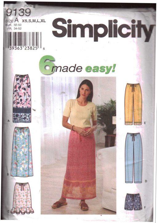 Simplicity 9139