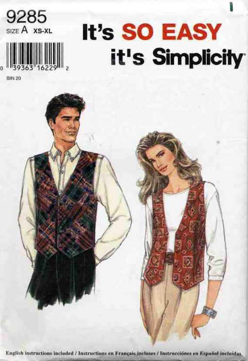 Simplicity 9285