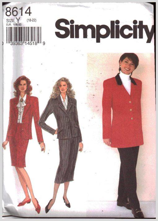 Simplicity 8614 M