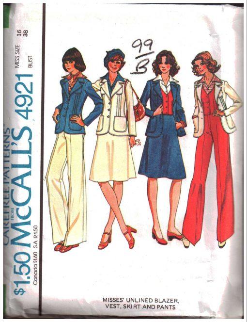 McCAlls 4921