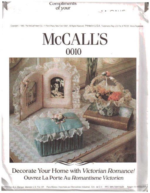 McCalls 0010 Y 1