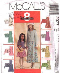 McCalls 2077 Y