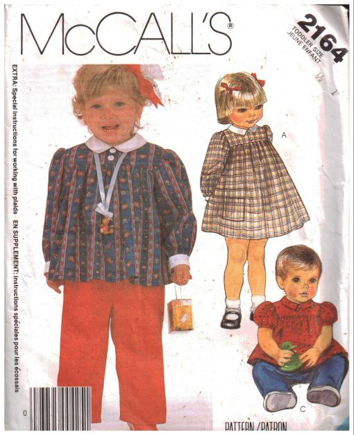 McCalls 2164 Y