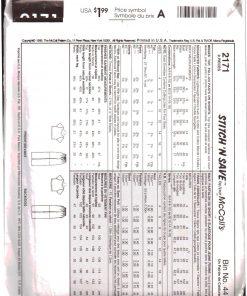 McCalls 2171 M 1
