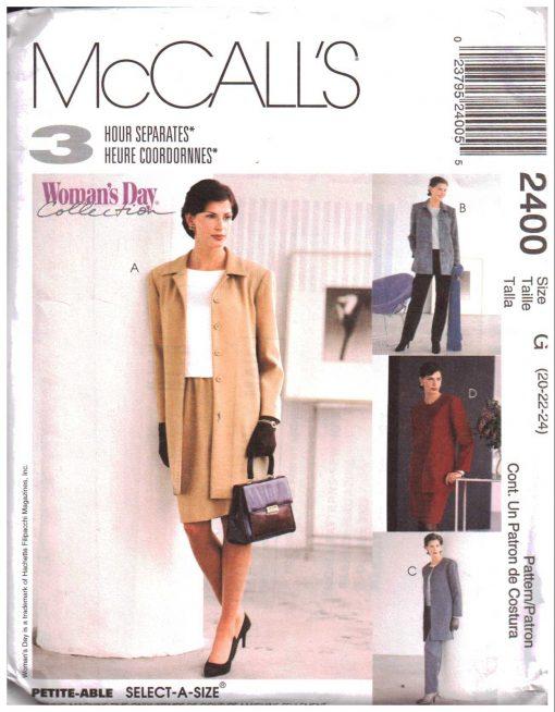 McCalls 2400 Y