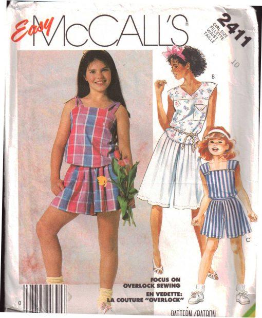 McCalls 2411 Y