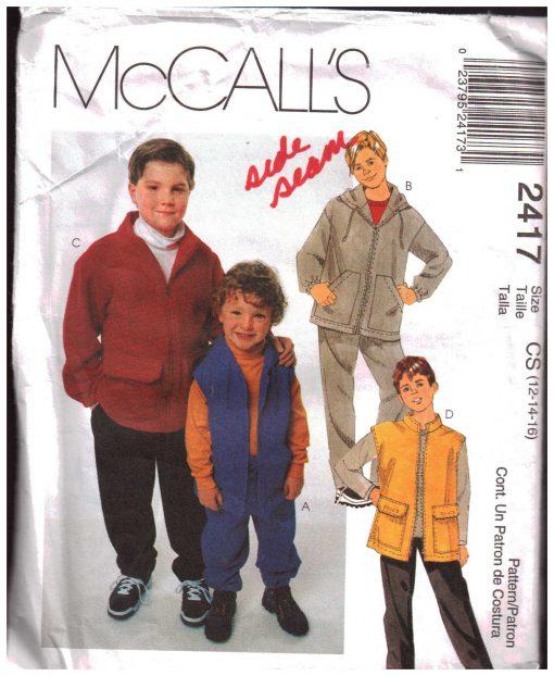McCalls 2417 Y