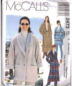 McCalls 2473 Y