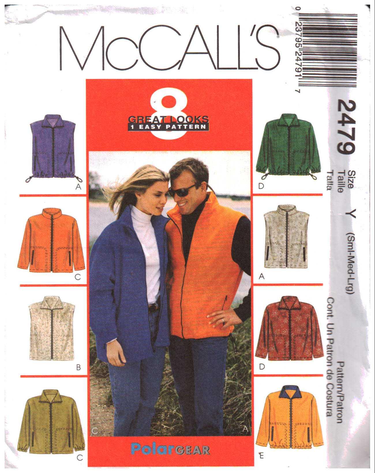 McCalls 2479 Y