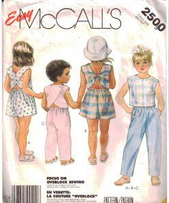 McCalls 2500 Y