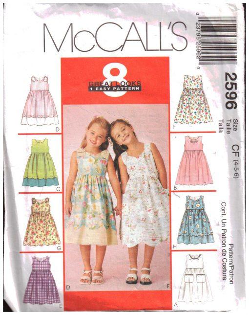 McCalls 2596 M