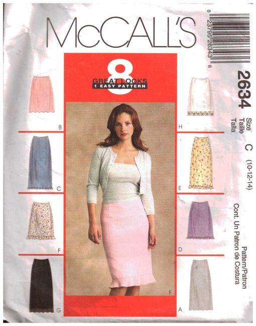 McCalls 2634 M
