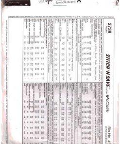 McCalls 2738 1