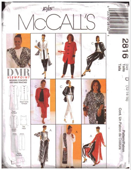 McCalls 2816 M